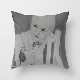 Prince Jackson Throw Pillow