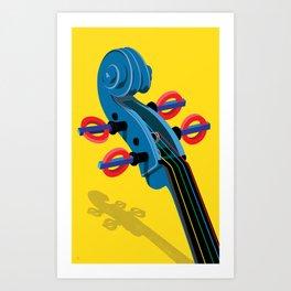Sounds of the Underground Art Print