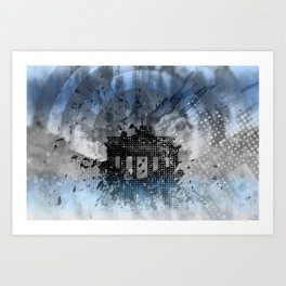 Graphic Art BERLIN Brandenburg Gate Art Print