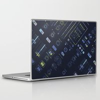 nicki Laptop & iPad Skins featuring DJ Mixer by Sitchko