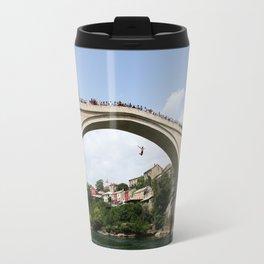 Mostar Bridge Jumper Travel Mug