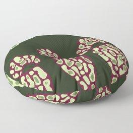 Pitcher Plant Pattern 4 Floor Pillow