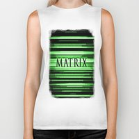 matrix Biker Tanks featuring Matrix by Svetlana Sewell