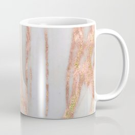 Aprillia - rose gold marble with gold flecks Coffee Mug