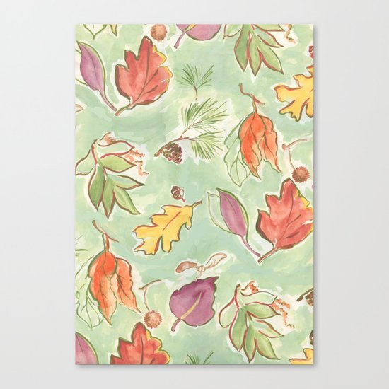 start to fall Canvas Print