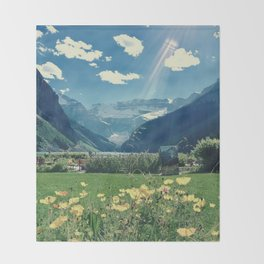 Lake Louise Dream Throw Blanket