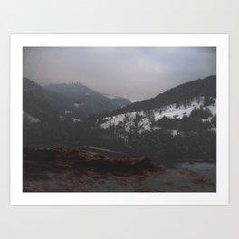 Valea Sangelui II Art Print