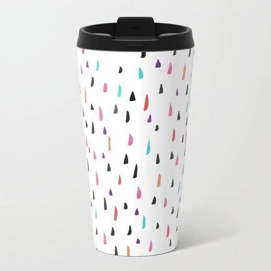 spiky tips Metal Travel Mug