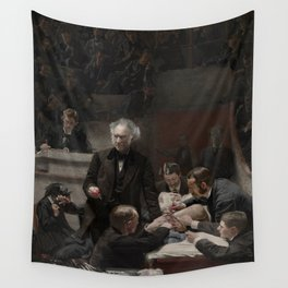 The Gross Clinic by Thomas Eakins Wall Tapestry
