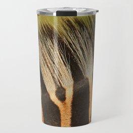 zebra detail Travel Mug