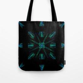 Alien Barcode Tote Bag