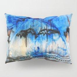 Blue Note Fire Pillow Sham