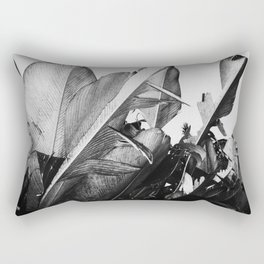 Palm Poetry Rectangular Pillow