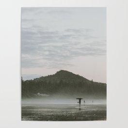 Dusk in Tofino Poster