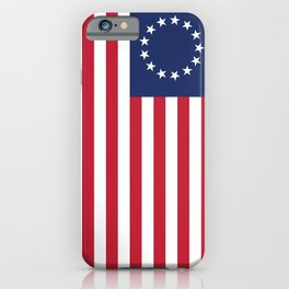 Betsy Ross flag of the USA iPhone Case