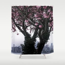 April Apparition Shower Curtain