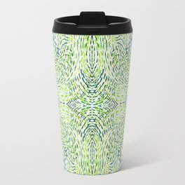 """""""And Then Again, """" in Green Multicolor Travel Mug"""