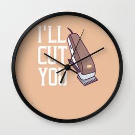 Barber Hair Stylist Hairdresser Barbershop Salon Wall Clock