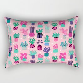M'kay - southwest cactus desert trendy 90s bright neon 80s style retro classic Rectangular Pillow