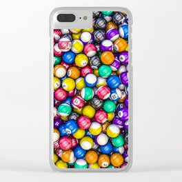 Poolhall Junkies Clear iPhone Case