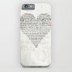 I hate love Slim Case iPhone 6s