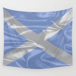 Scotland Silk Flag Wall Tapestry