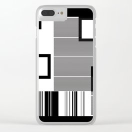 Reasonably Square Clear iPhone Case