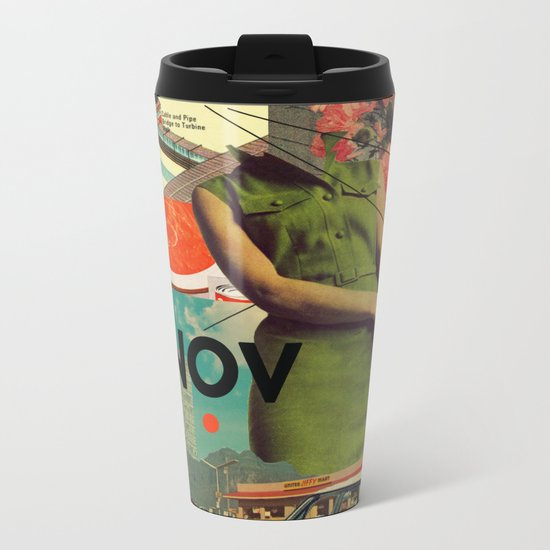 NOVember Metal Travel Mug