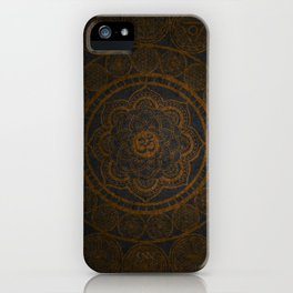 Circular Connections Copper iPhone Case