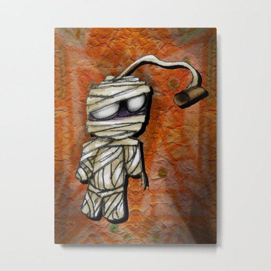 Bobby Mummy Metal Print