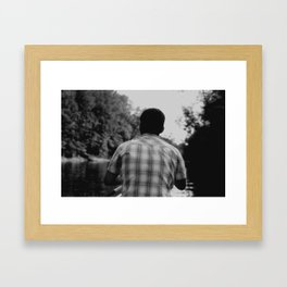 Rowing Framed Art Print