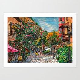 Puerto de la Cruz Art Print