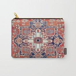 Heriz Azerbaijan Northwest Persian Rug Print Carry-All Pouch