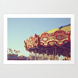 Carnival Fun Art Print