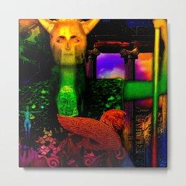 The Guardian of Underworld (aka Pallas Athene) Metal Print