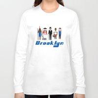 brooklyn Long Sleeve T-shirts featuring Brooklyn  by harlembrooklyn