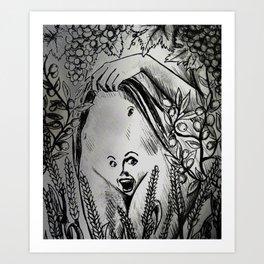 Baubo AKA Iambe Art Print