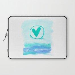 Sea Love Laptop Sleeve