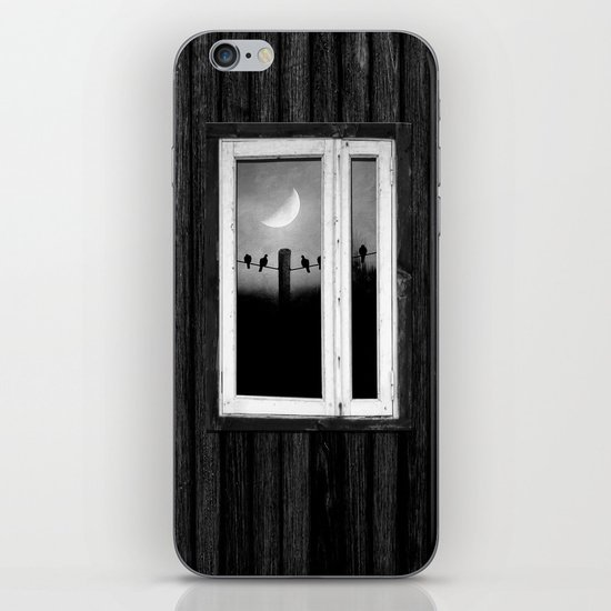 Minimal B&W I iPhone & iPod Skin