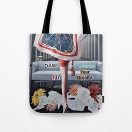 Run Dance Fly Tote Bag