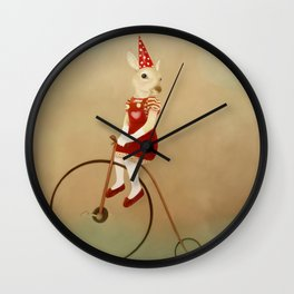 proud sally Wall Clock
