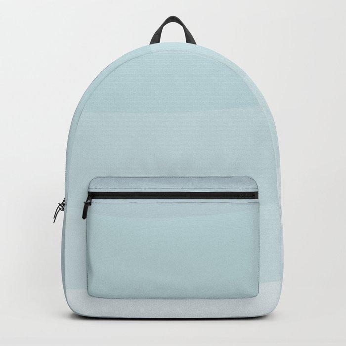 Light blue waves. Backpack