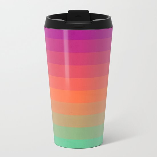 Enjoy Color Metal Travel Mug