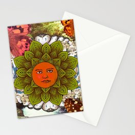 Energy Of The Sun Stationery Cards