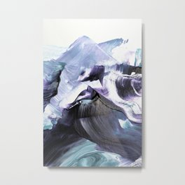 Glacier Mountains Metal Print