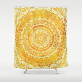 Sun Mandala 4 Shower Curtain