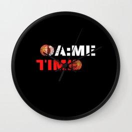 Dame Time Basketball All Star Meme Wall Clock