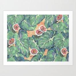 Tropical Boho Design — L Diane Johnson Art Print