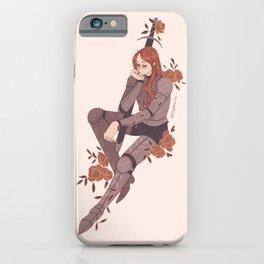 Flower - Knightober iPhone Case