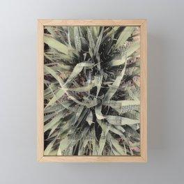 Spring Shoots. Framed Mini Art Print